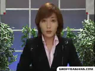 Японские телеведущие в сперме 4