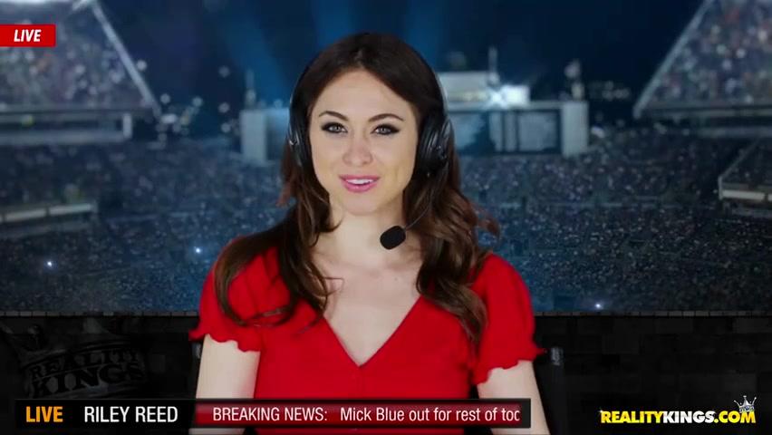 Видео оргазм телеведущую в прямом эфире